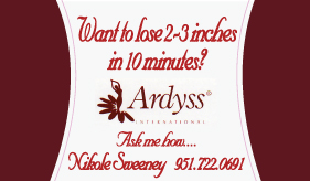 Ardyss Business Card Front Design